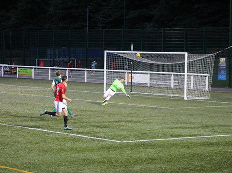 GFR SPARKLE AGAINST THE SCOTTISH CUP WINNERS AT NETHERDALE