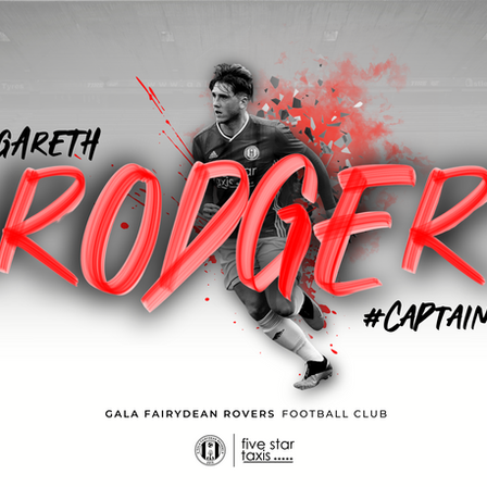 GARETH RODGER RELISHES NEW ROLE