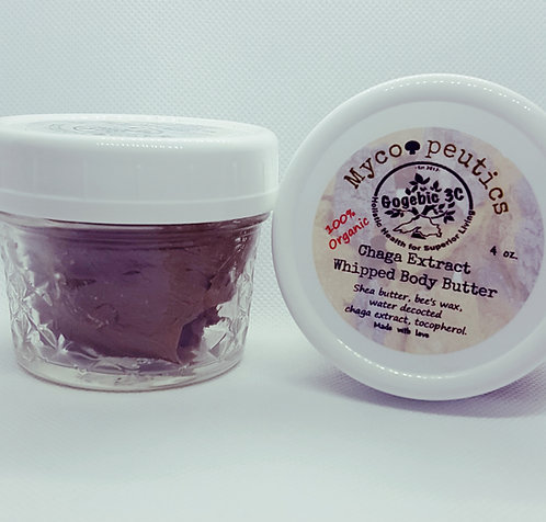 Chaga Whipped Body Butter 4 ounce