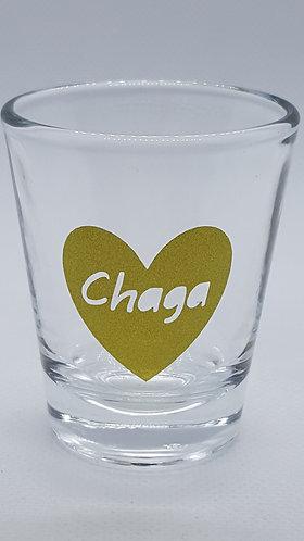 Chaga Shot Glass