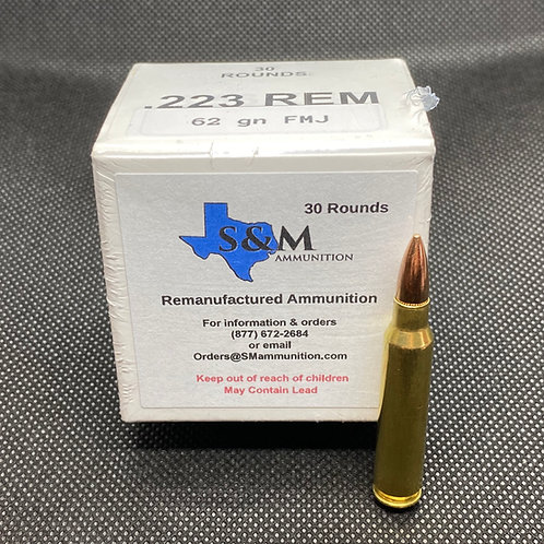 .223 Remington 62 gr. FMJ