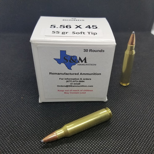 5.56x45  55 gr. FMJ (30 rounds)