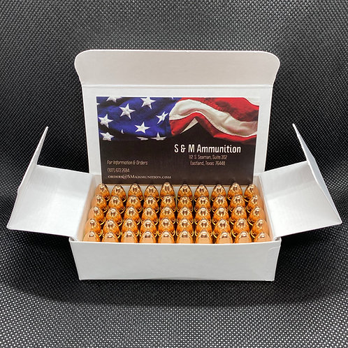 9mm 115 gr FMJ remanufactured