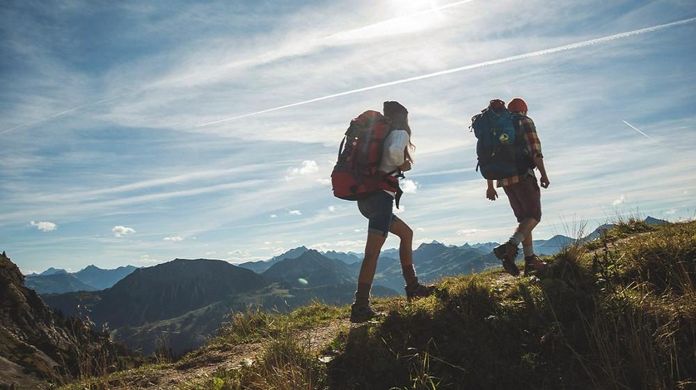 Post Hiking Massage. Hiking Fatigue. Trail Depression