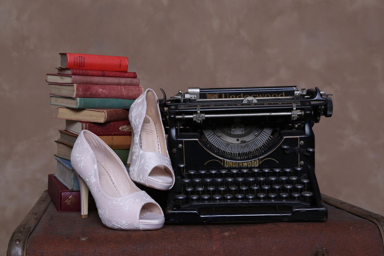 resized celia blush with typewriter
