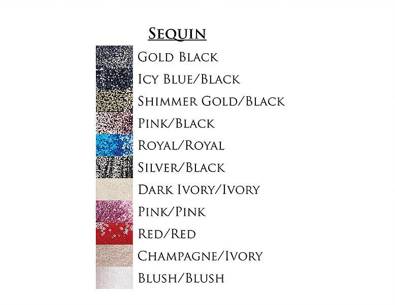 couleur de SEQUIN