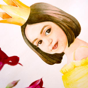 Portrait Lily Nour