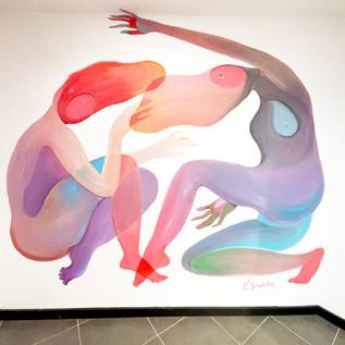 Fresque murale à Metz