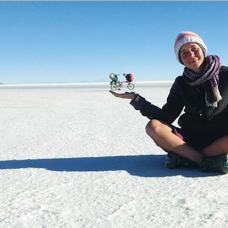 11.550 km in bici percorsi in 10 mesi dalla Colombia alla Terra del Fuoco - La storia di Beatrice