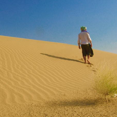 Cosa ho imparato stando 5 giorni da solo nel deserto indiano