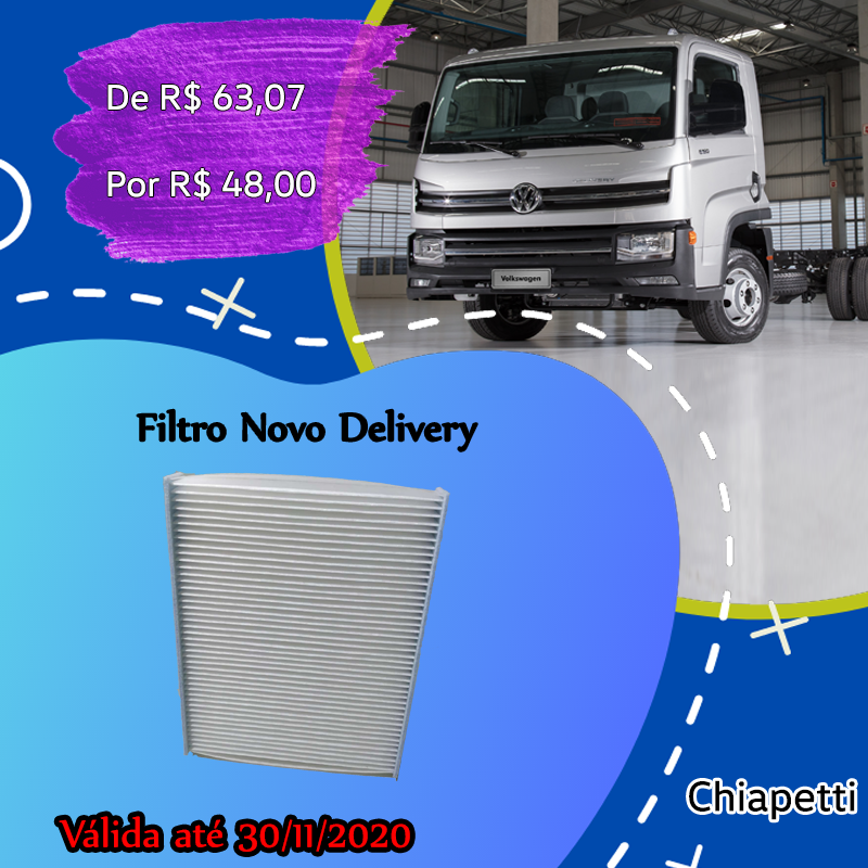 Filtro  New Delivery