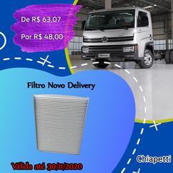 Filtro  New Delivery