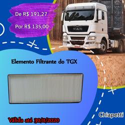 Elemento Filtrante do TGX