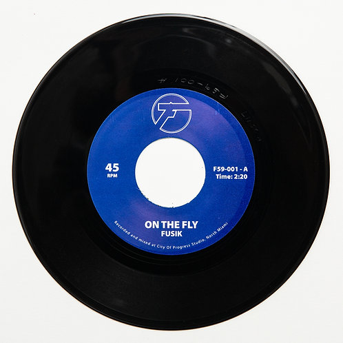 "Fusik - On The Fly / Battlefield (7"" Vinyl)"