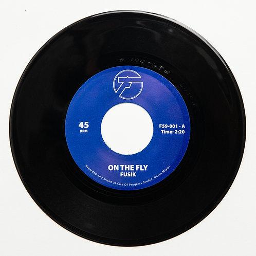 "Fusik - On The Fly / Battlefield (7"" Vinyl)"
