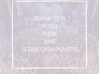 Memorial Day Weekend show at Revolution with Scone Cash Players, Fugu, Guavatron and Juke!