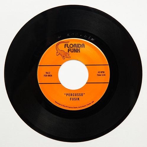"""Fusik - Percusso / Groove in C (7"""" Vinyl)"""