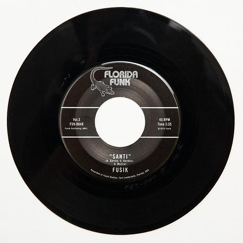 "Fusik - Desert Night / Santi - (7"" Vinyl)"