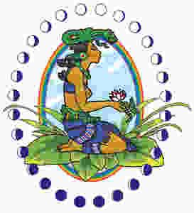 Maya Goddess Ix Chel, Arvigo Techniques of Maya Abdominal Therapy Logo