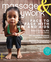 Massage & Bodywork Magazine Featuring Pain Exposure Therapy