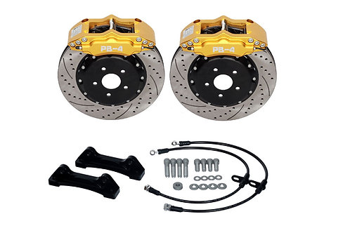 "Front Big Brake Kit  Small 4-Pot 304x26mm (16""+)"