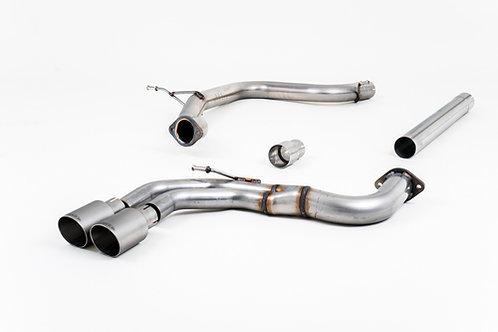 Cat-back - Non-resonated (louder). Titanium Tips - A3 - 2.0 TDI 150 MQB 2WD - 20
