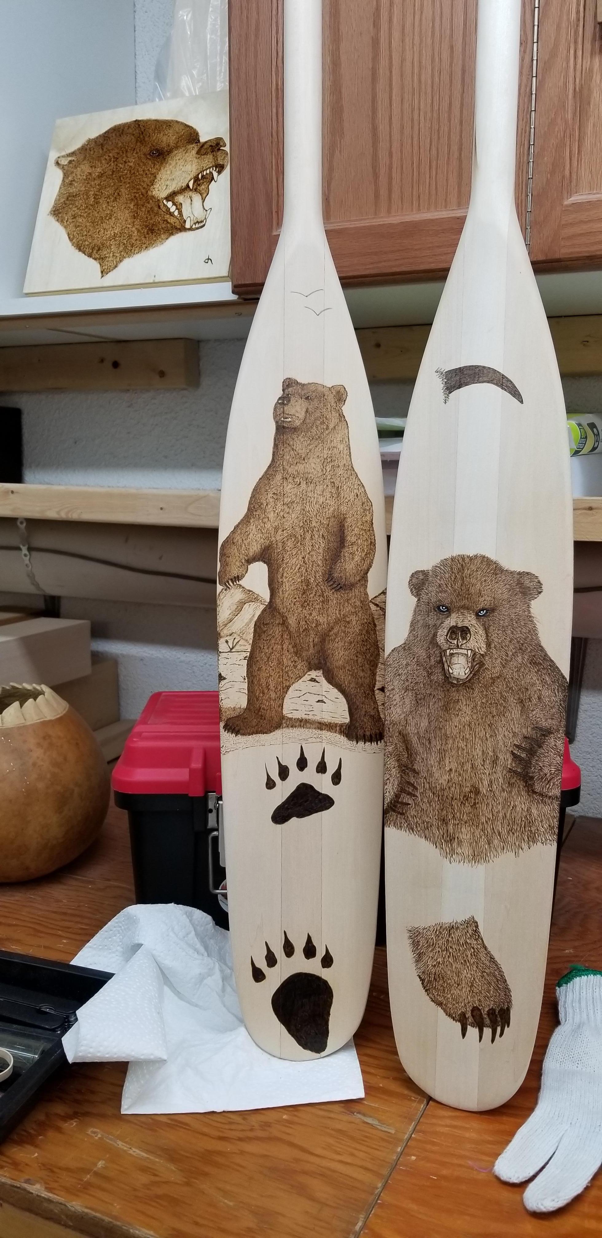 Bear Paddles