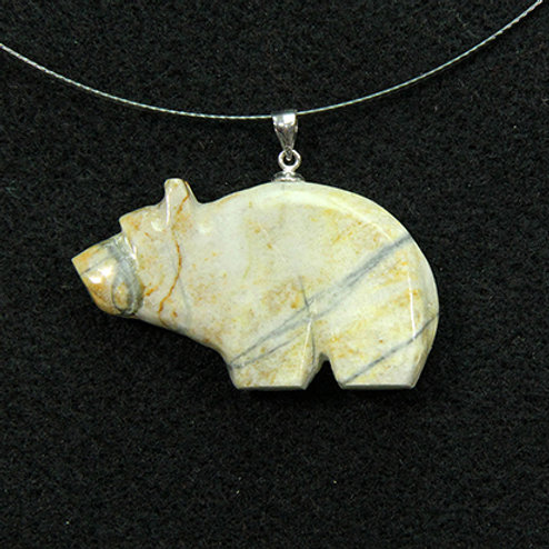 Picasso Marble bear Fetish