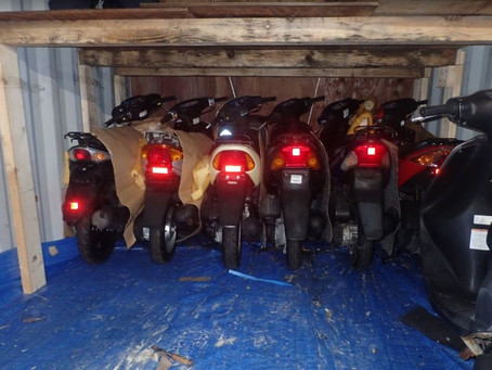 Used scooter in bulk