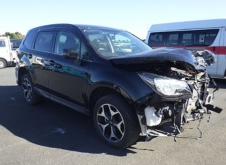 DAMAGED SUBARU FORESTER FOR SALE