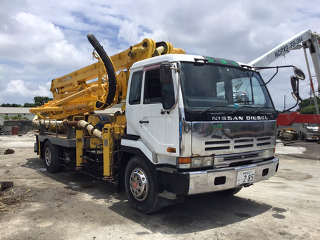 Nissan Diesel concrete pump truck