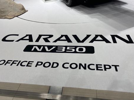 NISSAN CARAVAN NV35 OFFICE POD CONCEPT
