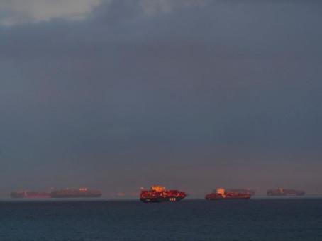 Supply bottlenecks leave ships stranded, businesses stymied