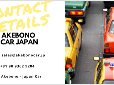 GET QUOTATION FOR USED CAR FROM JAPAN (AKEBONO)