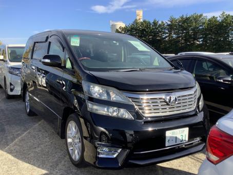 Toyota VELLFIRE GGH25W for sale (Akebono)