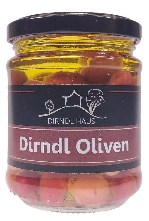 Dirndl Oliven