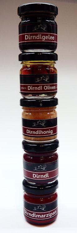 Dirndl Quintett / 5-er Set