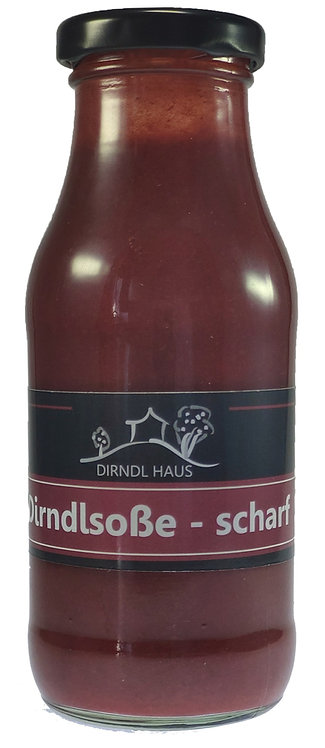 Dirndlsoße scharf 230 ml