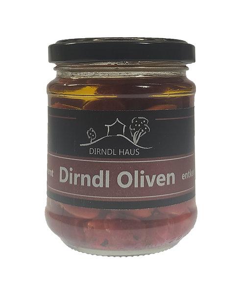 Dirndl Oliven entkernt