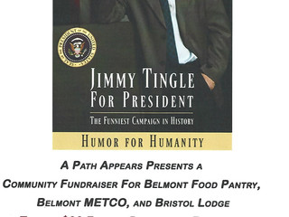 Support MHSA While You Laugh: Jimmy Tingle Humor for Humanity Event