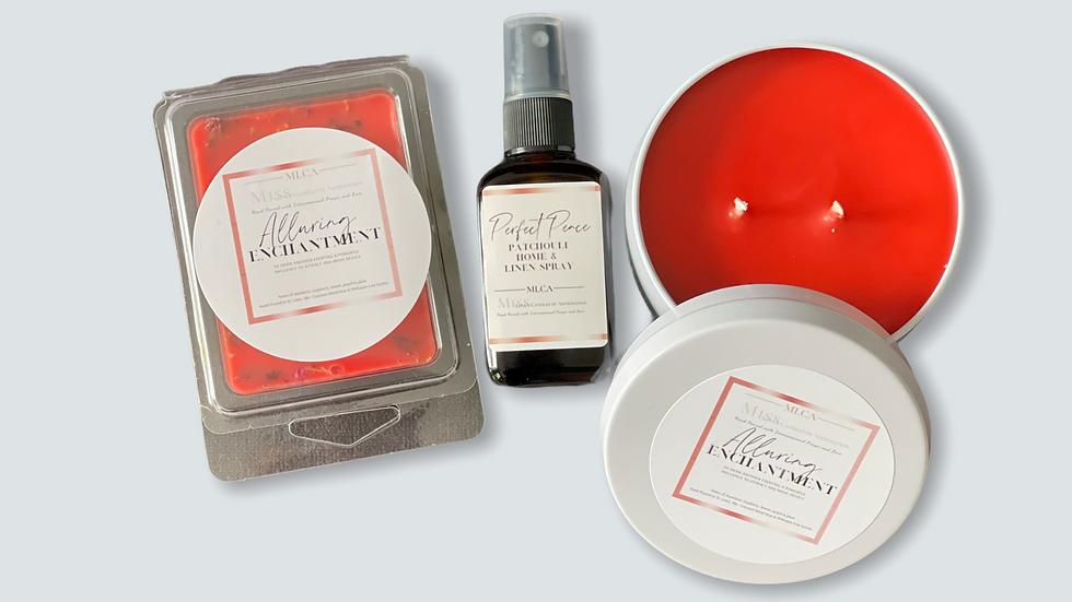 Alluring Enchantment 8 oz tin gift set w/Alluring Enchantment Melts