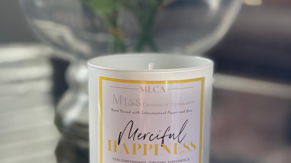 Merciful Happiness (notes of Citrus, Mint, & Lemon)