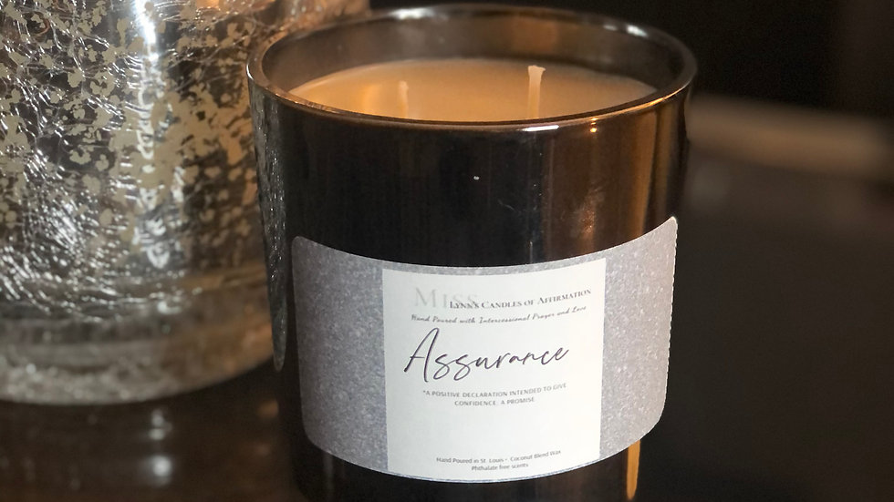 Assurance (Notes of Mahogany, Jasmine,  Patchouli, and Cashmere)