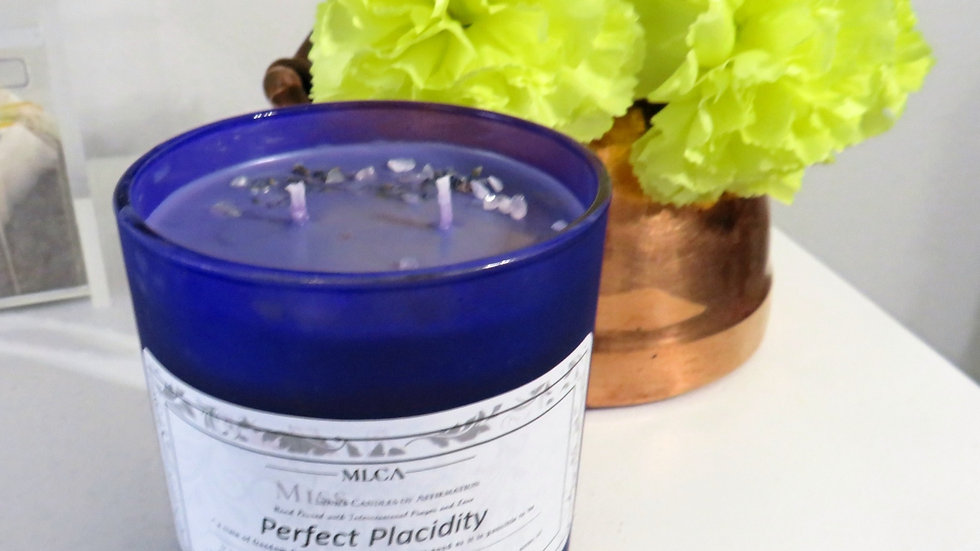 Perfect Placidity (notes of lavender and flowers with pure essential oil)