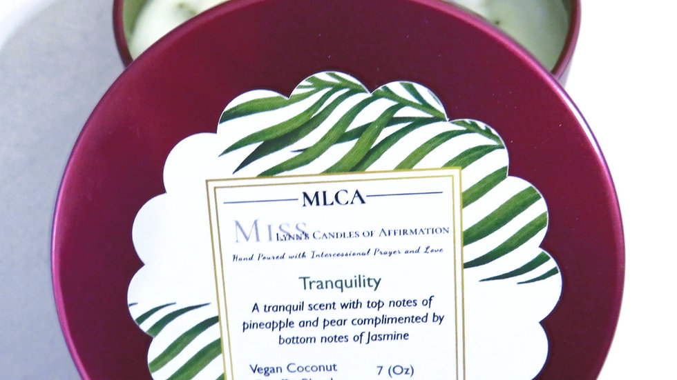 Tranquility Wickless Candle