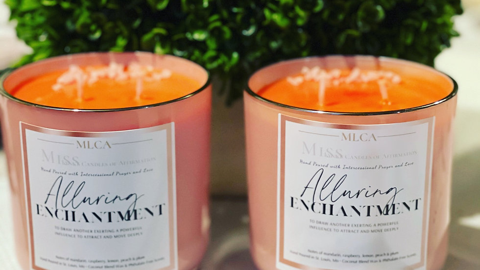 Alluring Enchantment (notes of peach, plum, sugar and raspberry)