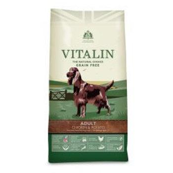 Vitalin Natural Grain-Free Adult Chicken & Potato