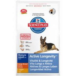 Hills Science Plan Canine Mature Adult 5+ Active Longevity Large Breed with Chic