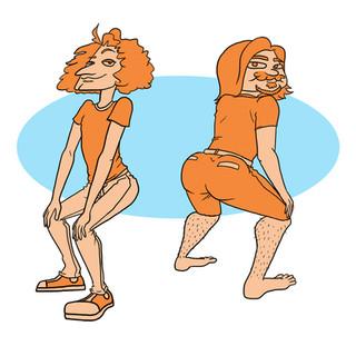 Game Grumps Twerking Animation