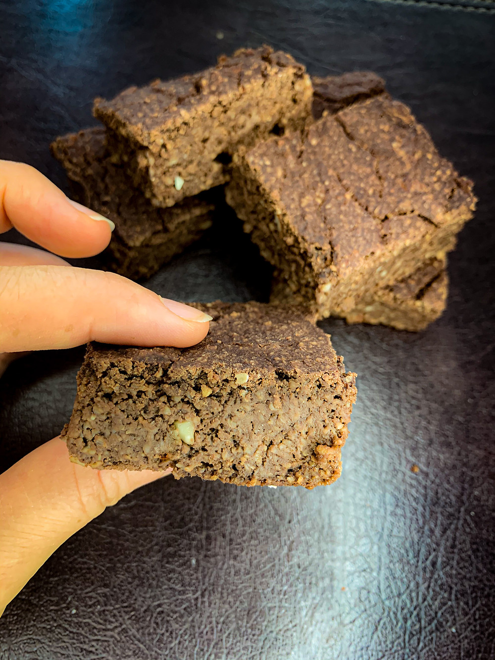 Brownie de manzana - Nutricionista Online Karina Herrera